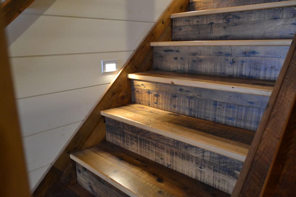 Reclaimed Hemlock Stair Treads