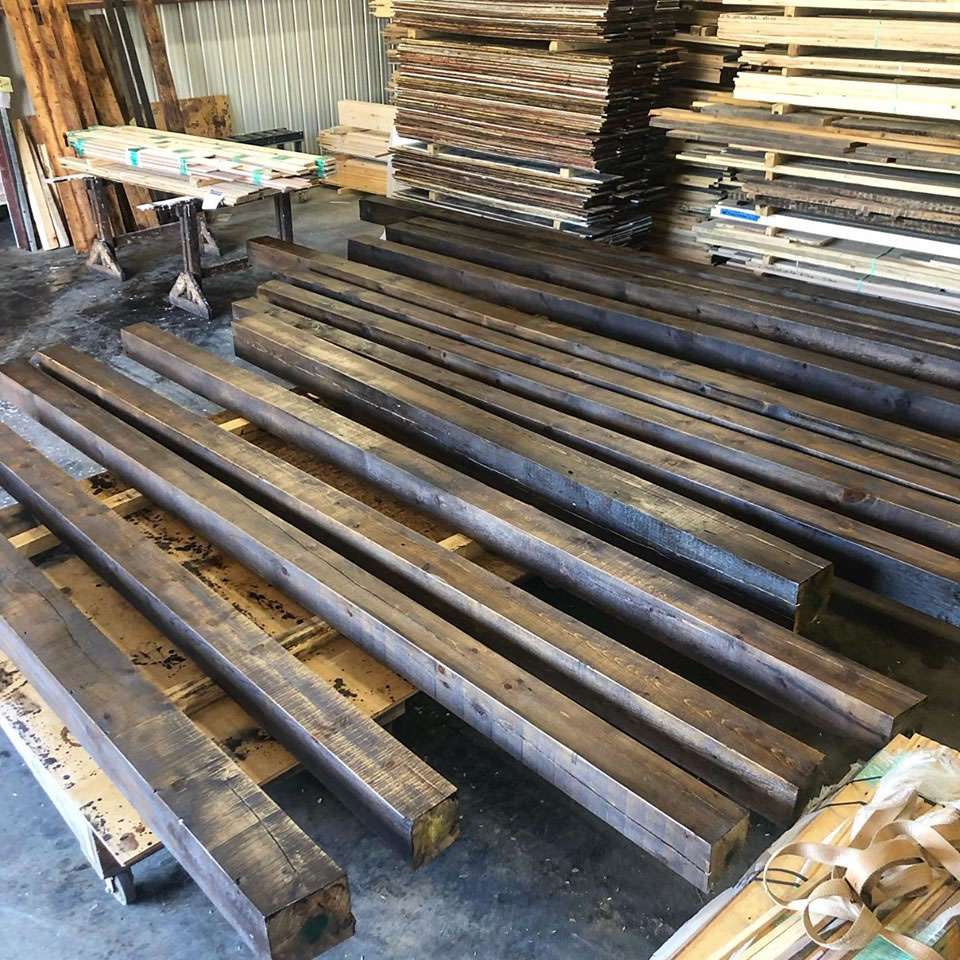 Rough_Sawn_Pine_Timbers_Stained_Pre-Finished