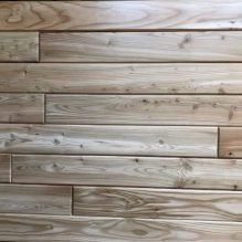 Tamarack End Matched Paneling Clear Finish
